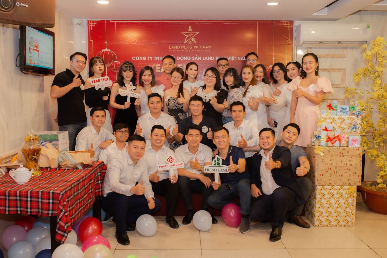 ĐÊM PARTY END YEAR 2021 – DIFFERENCE TO BE SUCCESSFUL – LAND PLUS VIỆT NAM 31/01/2021